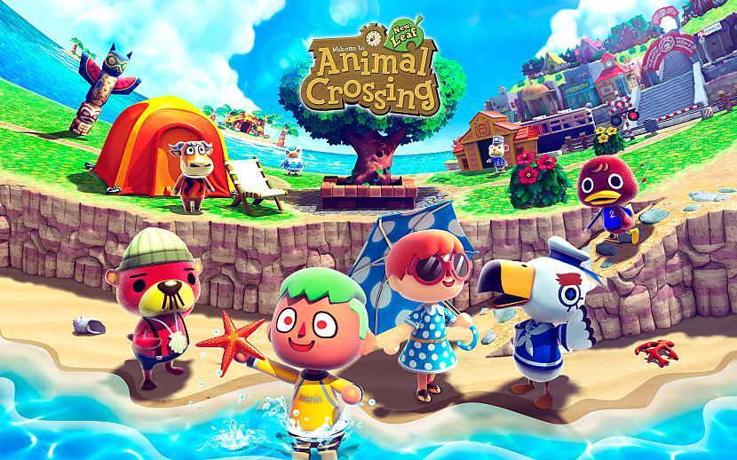 5 Vieta  Animal Crossing New... Autors: Cepumugludeklis Top 10 video spēles 2013. gadā.