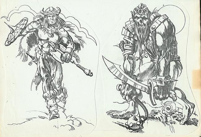 The Sword of SheRa 1990 gads Autors: zhagata13 Multeņu varoņi mākslinieku skicēs