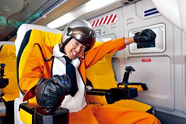 Ir iespēja pat uzvilkt... Autors: SuperMagone Japānas kosmiskais autobuss