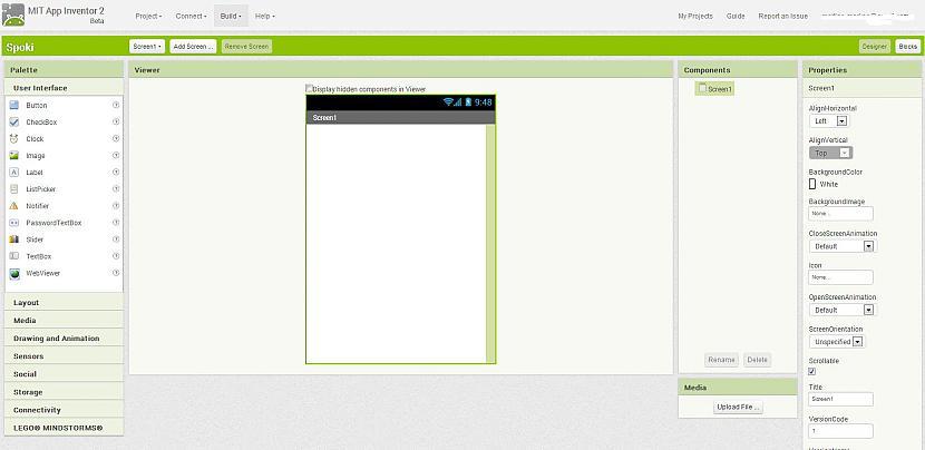 Paradīsies scaronāda lapa... Autors: Werkis2 Pamācība, kā uztaisīt savu Android programmu vai vienkāršu spēlīti !