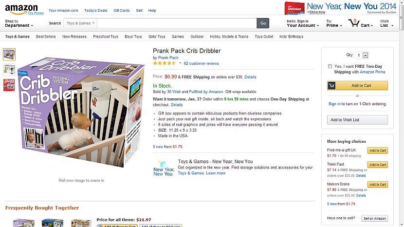 Prank Pack Crib Dribbler bērnu... Autors: Fosilija Superīgas preces internetā-2
