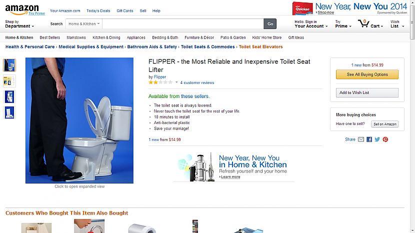 FLIPPER tualetes poda vāka... Autors: Fosilija Superīgas preces internetā-2