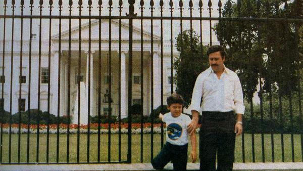 Narkobarons Pablo Escobar ar... Autors: GanjaGod Retas, vēsturiskas bildes