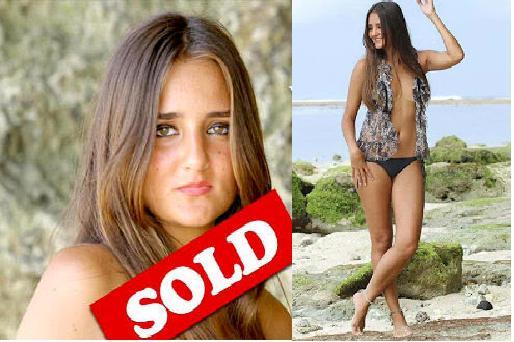 Natalie selling virginity, percent of teens having sex