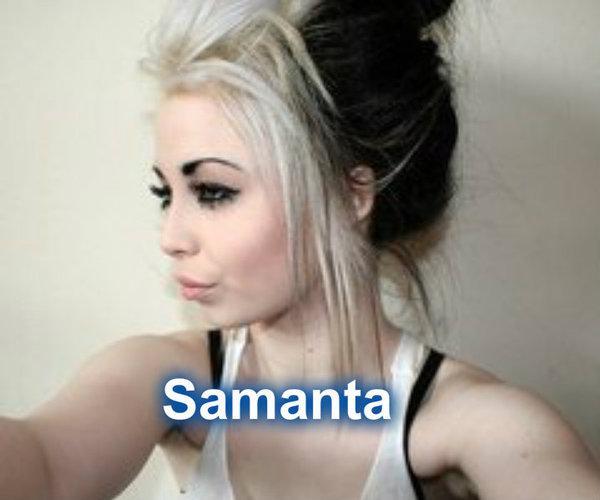 Samanta ir emo stila meitene... Autors: Elizabetesstasts Elizabetes  stāsts : iepazīšanās ar varoņiem