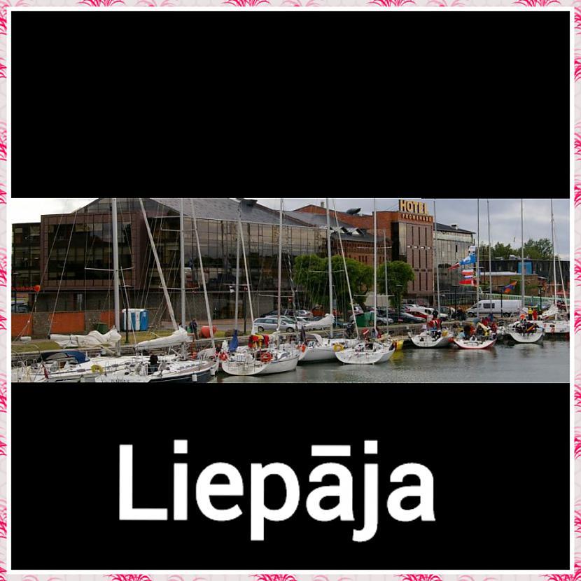 Liepāja  Iedzīvotāju skaits 78... Autors: ghost07 8 Skaistāko Latvijas pilsētu panorāmas