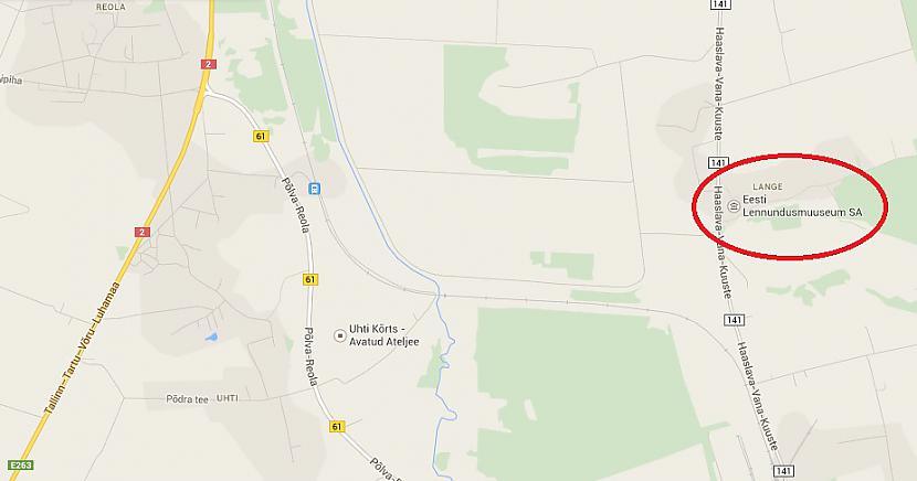 Vieta kur tas atrodas Autors: Odium Eesti Lennundusmusseum