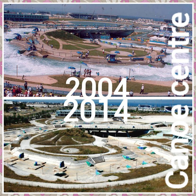 Kanoe airēscaronanas centrs... Autors: ghost07 Kā izskatās Atēnu olimpiskie objekti pēc 10 gadiem?
