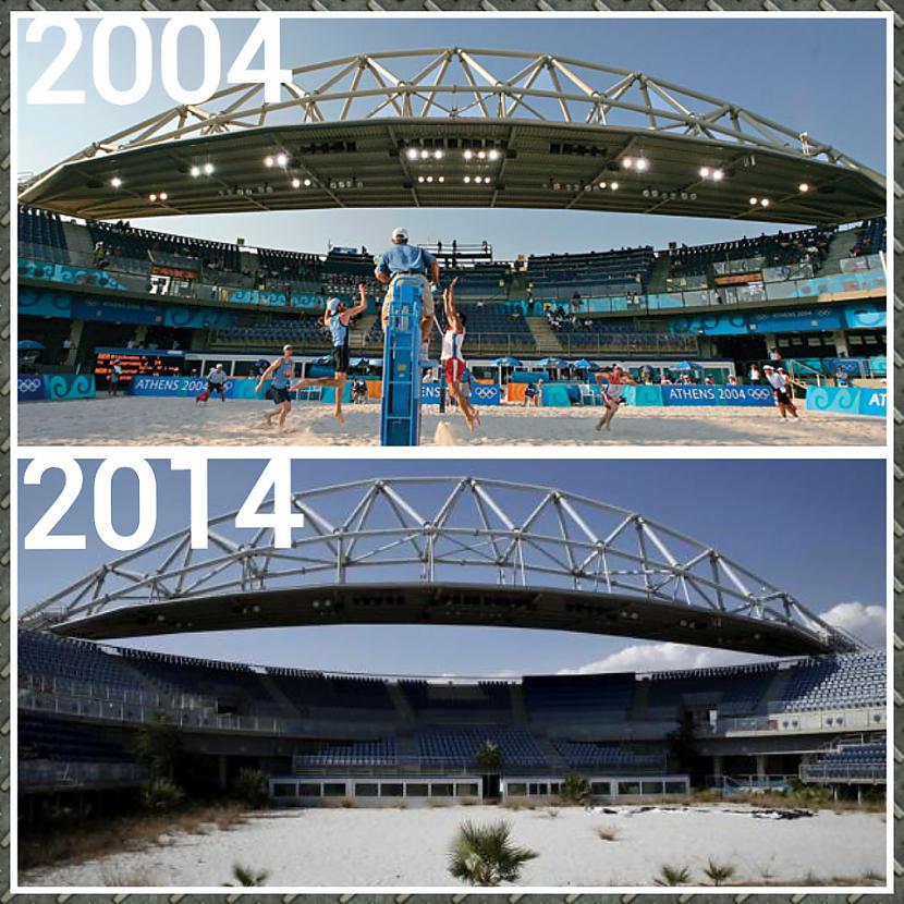 2004 gada olimpiskās... Autors: ghost07 Kā izskatās Atēnu olimpiskie objekti pēc 10 gadiem?