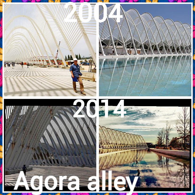 Agora aleja olimpiskajā... Autors: ghost07 Kā izskatās Atēnu olimpiskie objekti pēc 10 gadiem?