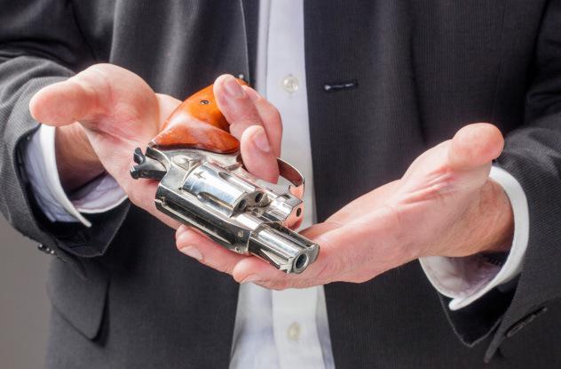 Laupītājs atdod ierociLielas... Autors: Fosilija Stulbākie noziedznieki pasaulē