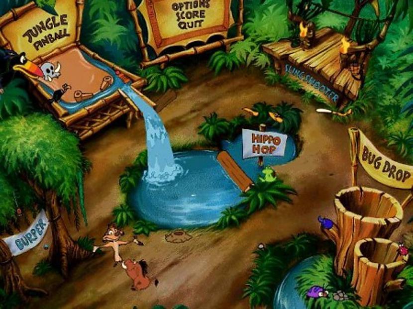 Jungle Games Ar Timon un Pumba... Autors: The Diāna Atceries? Tavas bērnības spēles.