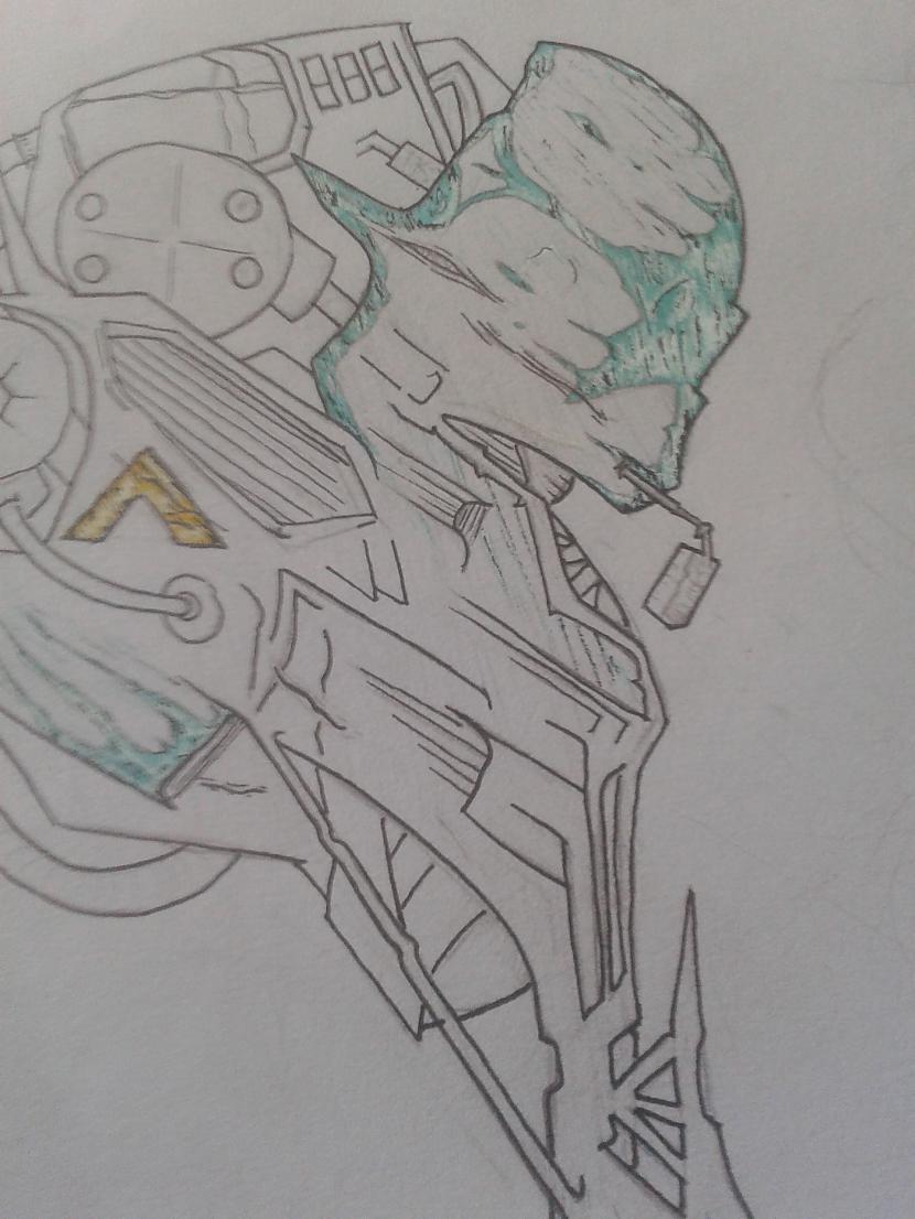 un tad sāku zīmēt visu pēc... Autors: igonuts mani zīmējumi.