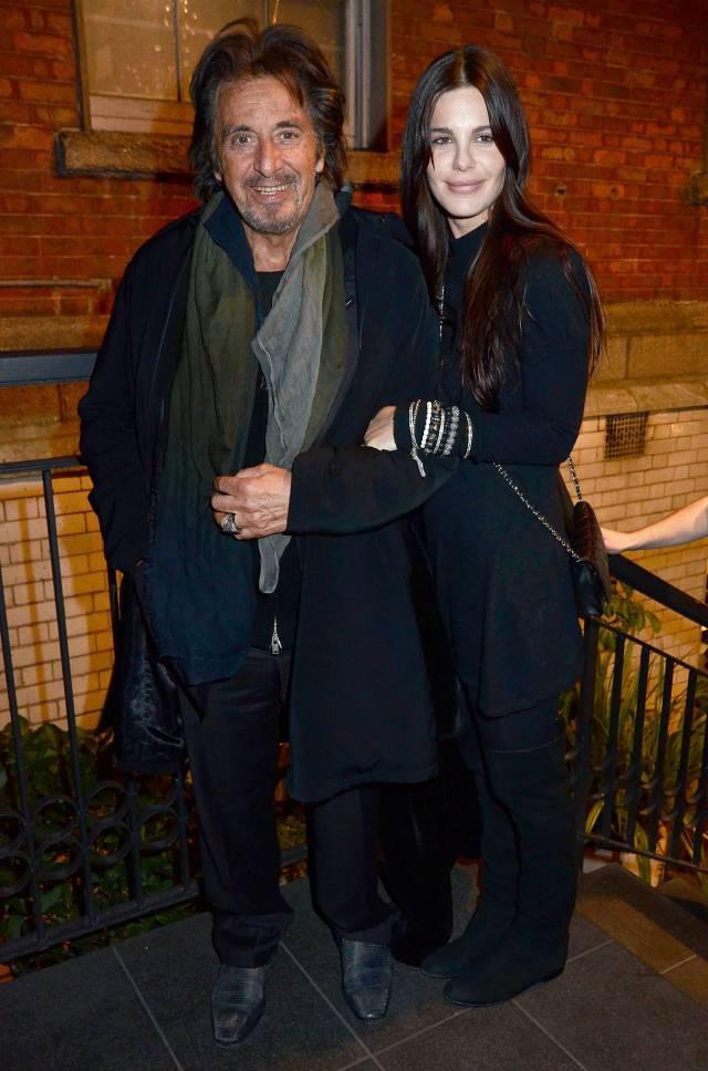 Lucia Sola 33 amp Al Pacino... Autors: lolypapgirl Slavenību pāri vai bijušie pāri ar ļoti lielu vecumu starpību