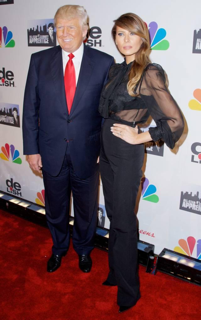 Melania 44 amp Donald Trump 68 Autors: lolypapgirl Slavenību pāri vai bijušie pāri ar ļoti lielu vecumu starpību