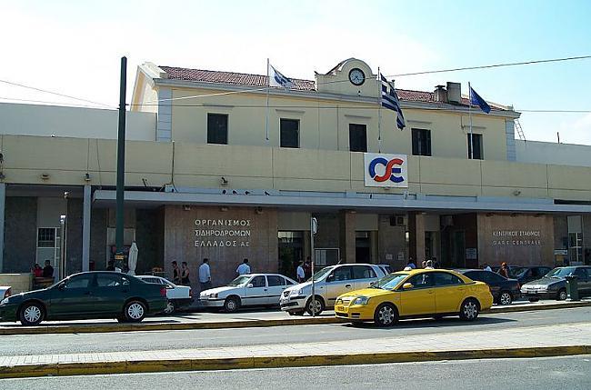 Atēnas Grieķija Autors: SinagogenBombardiren Dzelzceļa stacijas Eiropas galvaspilsētās