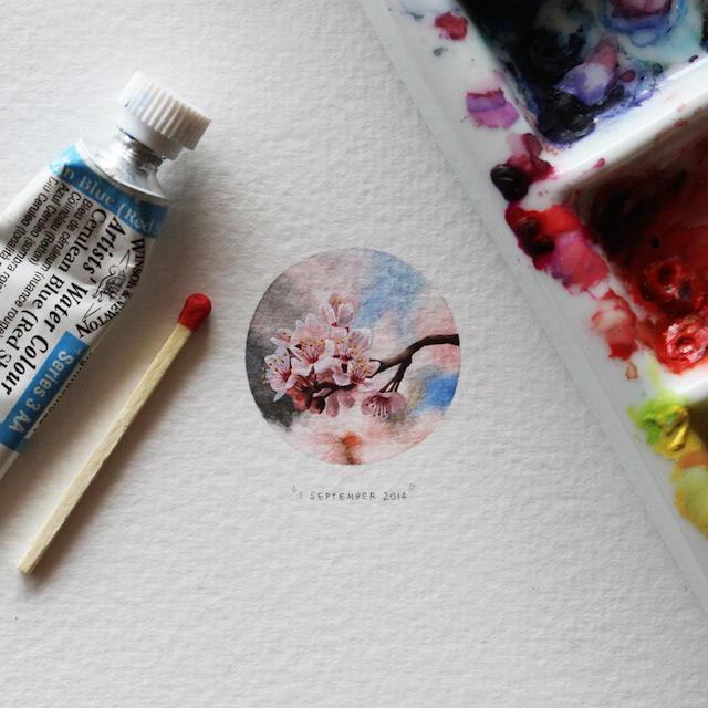 Autors: Gostlv ''Postcards for Ants'' miniatūras ilustrācijas