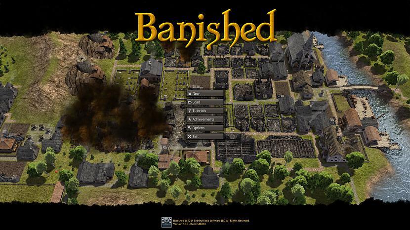 Banished Par spēli uzzināju... Autors: Fosilija Manas datorspēles