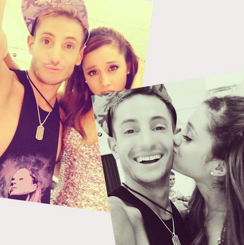 Arianai ir vecākais brālis... Autors: Slimiķe Ariana Grandee Faktiņi! :)
