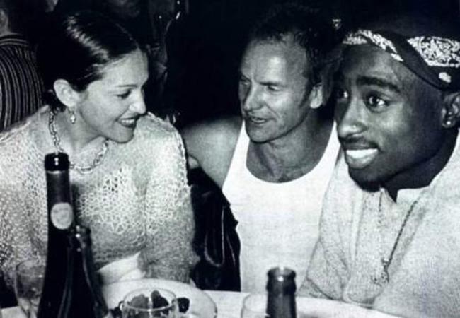 Madonna Sting un Tupac tusējas Autors: kaķūns Bin Ladens ar ģimeni un citi.