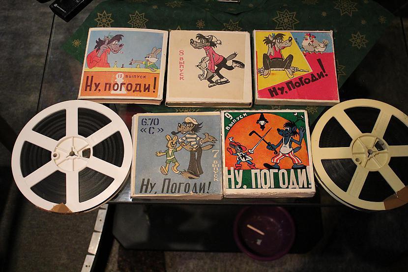 Mana 8mm filmiņu kolekcija Autors: chechens5 Mana projektoru kolekcija