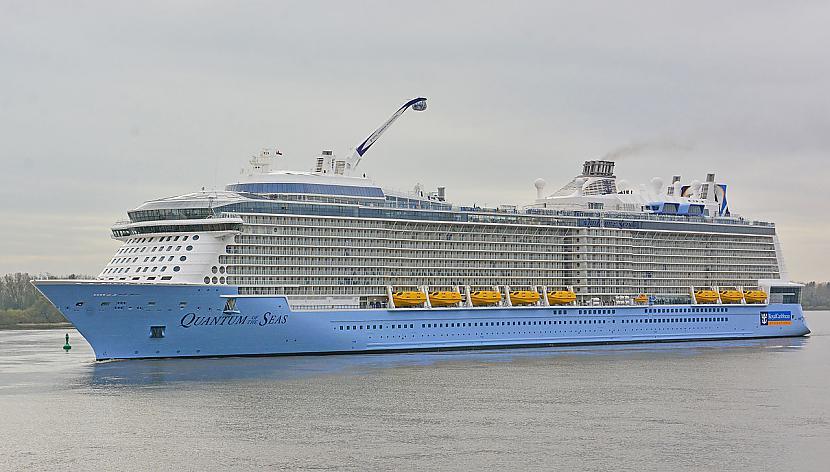 Autors: Fosilija Royal Cribbean International - lielākā okeānu laineru kompānija