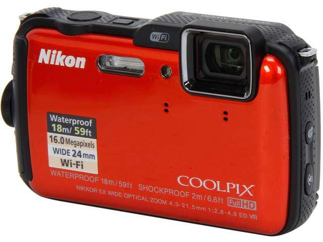 5 vieta Nikon Coolpix AW120... Autors: FINE Zemūdens kameru TOP10