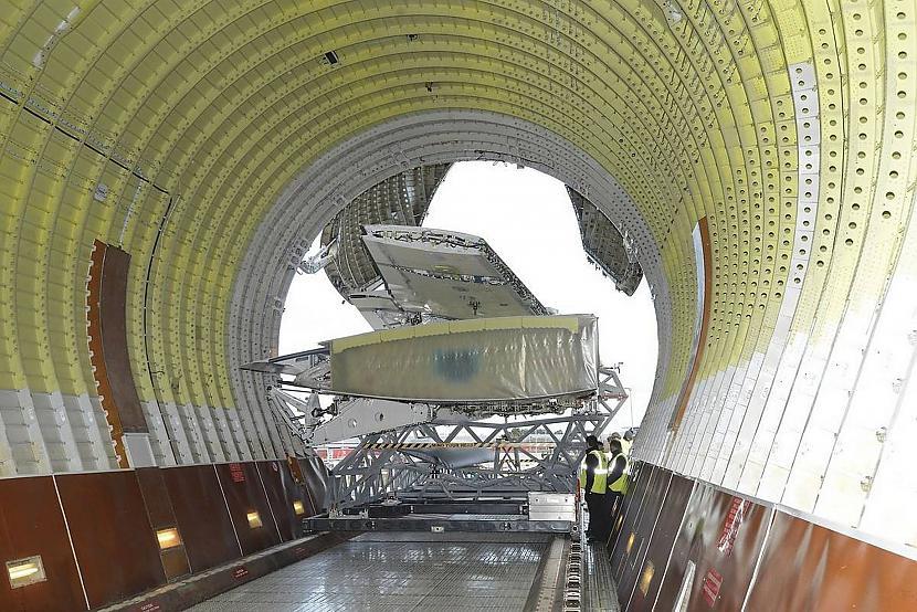 nbsp nbspJa runājam par... Autors: Mao Meow Airbus Beluga - lidmašīnu pasaules valis