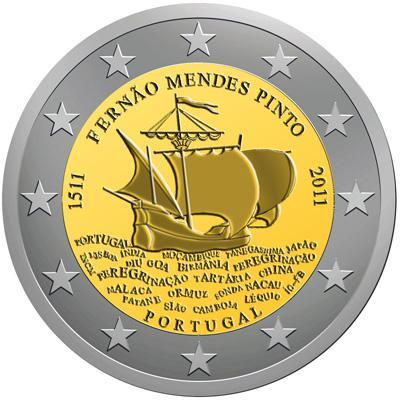 Notikums kuram par godu izdota... Autors: KASHPO24 Portugāles eiro monētas