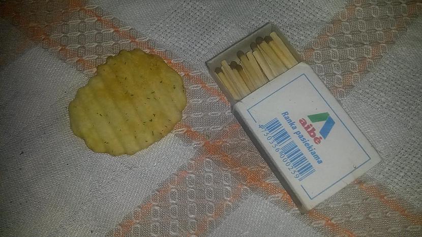 sērkociņu kastīte un... Autors: rukšukskrienam Vai kartupeļu čipsi deg?