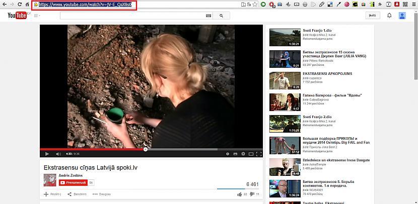 1attēls Autors: Zenons Kā saglabāt video no YOUTUBEs savā datorā?