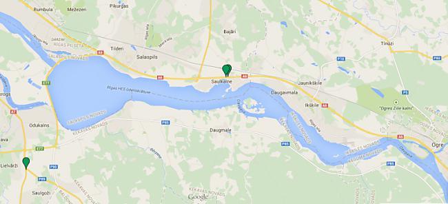 Rīga  OgrenbspAutoceļscaron A6... Autors: Neticamaiss Jaunā fotoradaru karte