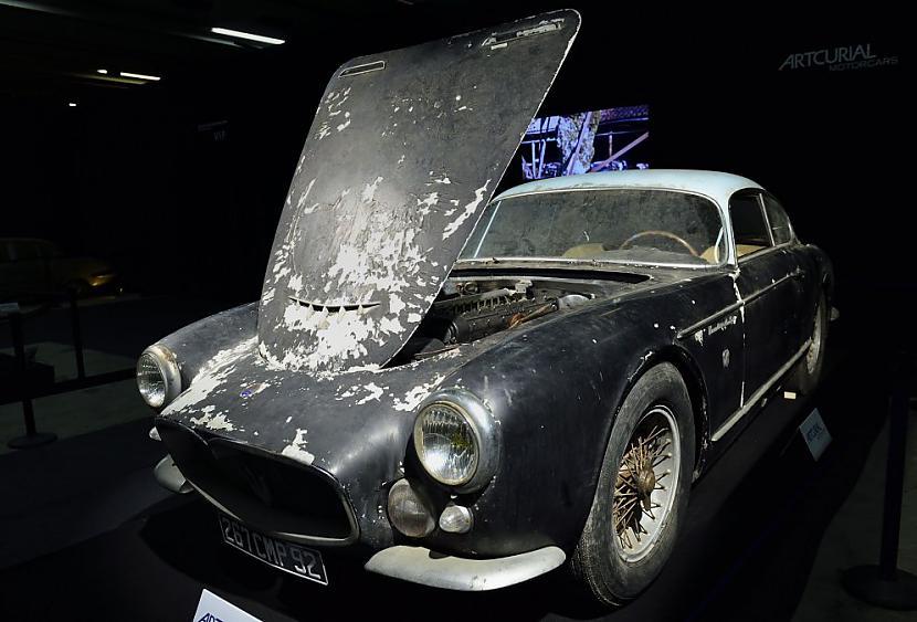 Maserati A6G 2000 Gran Sport... Autors: the english Par miljoniem tiks izsolīti pamestā Francijas šķūnī atrastie retro auto.