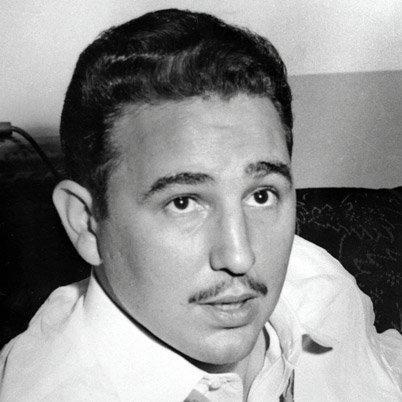 Fidels Kastro Autors: zmx Sabiedrībā pazīstami cilvēki jaunībā