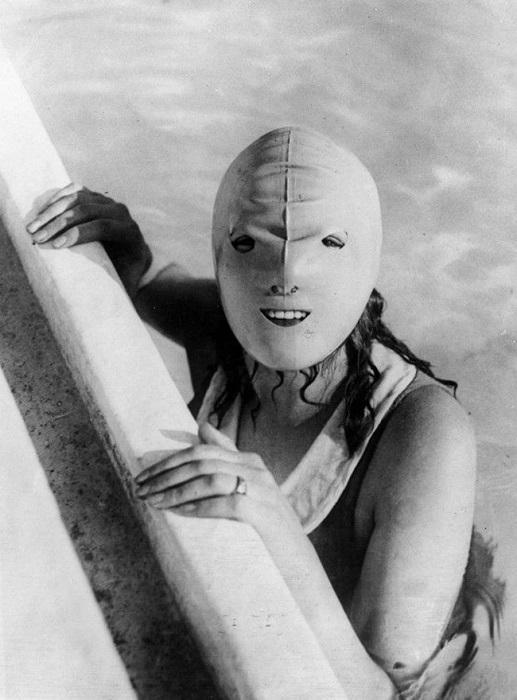 Peldēscaronanas maska ... Autors: Lords Lanselots Ko tik tie cilvēki neizgudro!!!