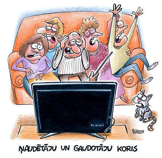 Scaronodien es pamodos dzirdot... Autors: Sulīgais Mandarīns Karikatūras un FML