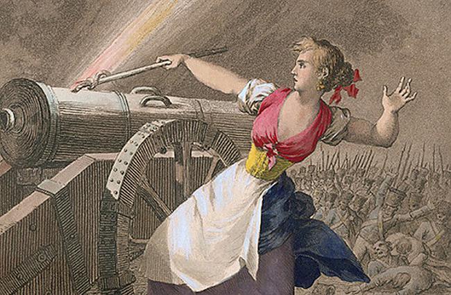 Agostina Domenech de... Autors: Raziels Skaistās, drosmīgās un varonīgās sievietes karā