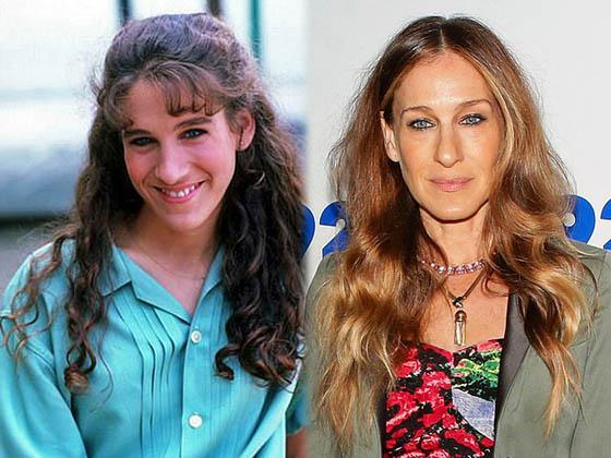 Sāra Džesika PārkereKurscaron... Autors: Lords Lanselots Slavenību plastiskās operācijas - pirms un pēc!