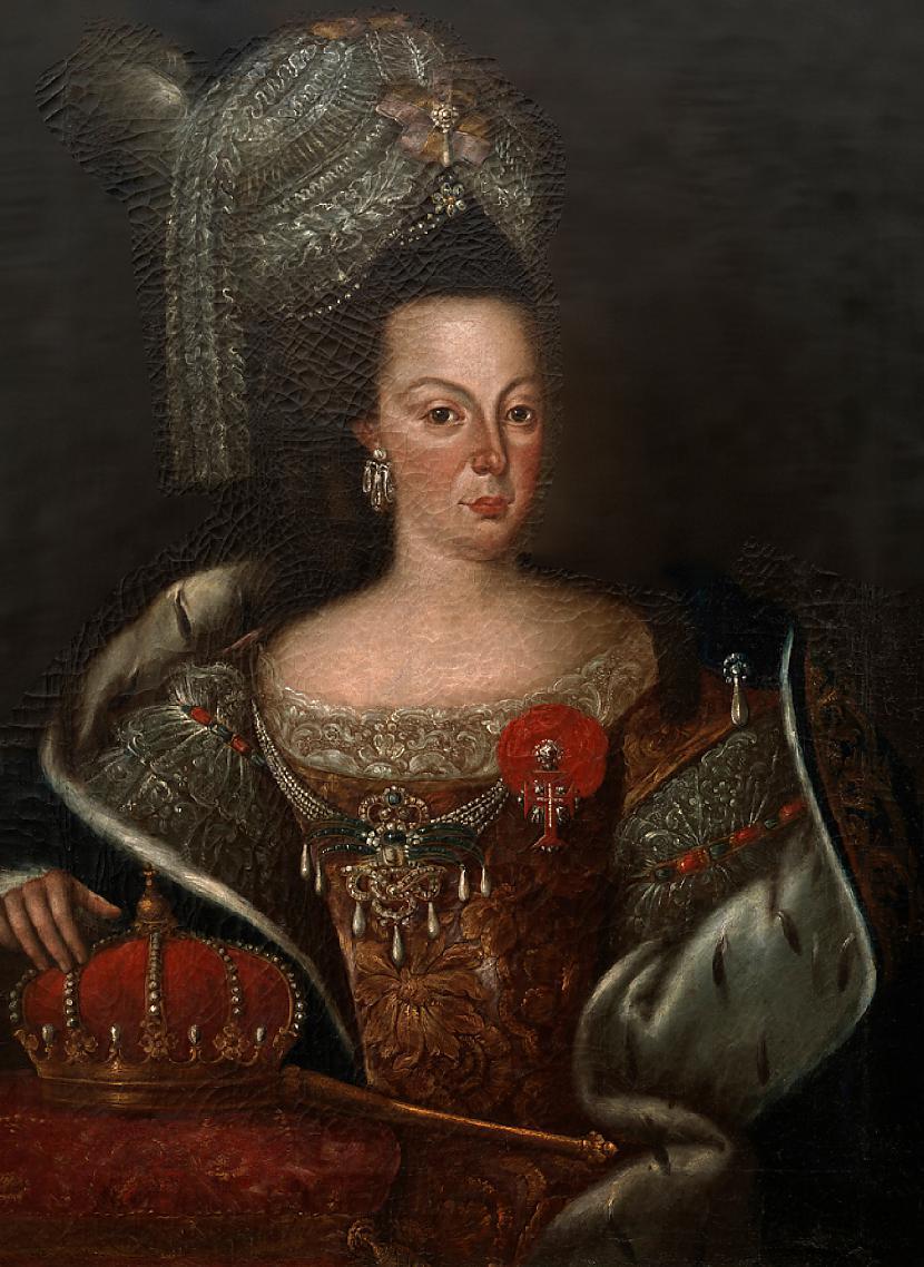 Portugāles karaliene Marija... Autors: sancisj TOP 10 Jukušie Valdnieki.