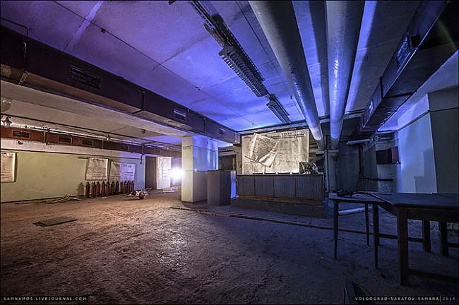 Zāles centrā izvietota tribīne Autors: ieva5 Pazemes Saratova
