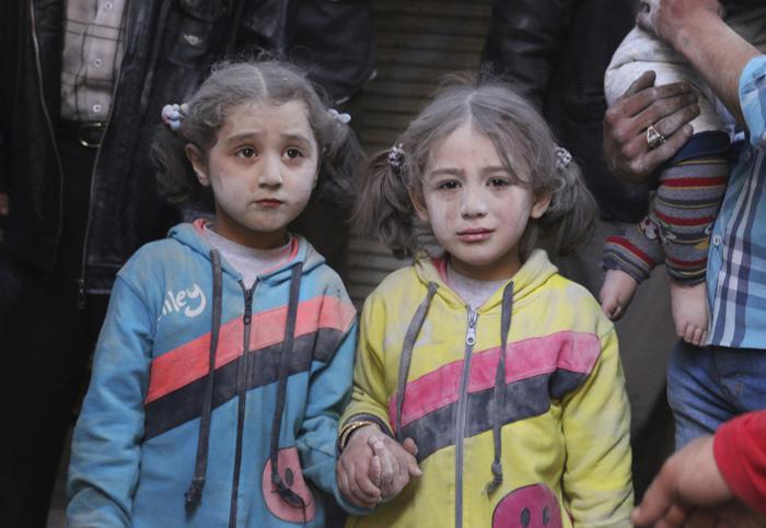 Meitenīte sizdzīvoja pēc... Autors: Lords Lanselots Kas liek Sīriešiem bēgt uz Eiropu???