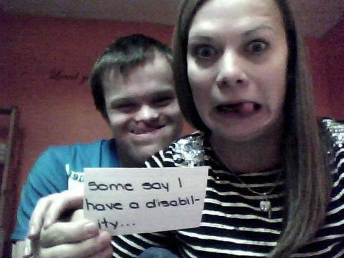 quotDaži saka ka man ir... Autors: twist Aizkustinošs stāsts par zēnu ar dauna sindromu.