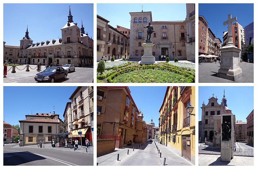 Nu nekas dodos tālāk pa... Autors: Pēteris Vēciņš Vecā labā Madride. Spānijas citadele Madride 1. daļa.