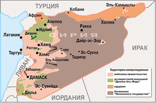 Kartē sārtā krāsā valdības... Autors: Raziels Sīrija, Krievija ISIS un bēgļi