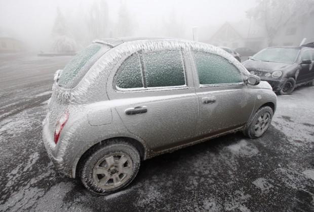 Mascaronīna ir sasalusi tik... Autors: mezatrollis Auksti ir ne tikai Sibīrijā, bet arī Eiropā