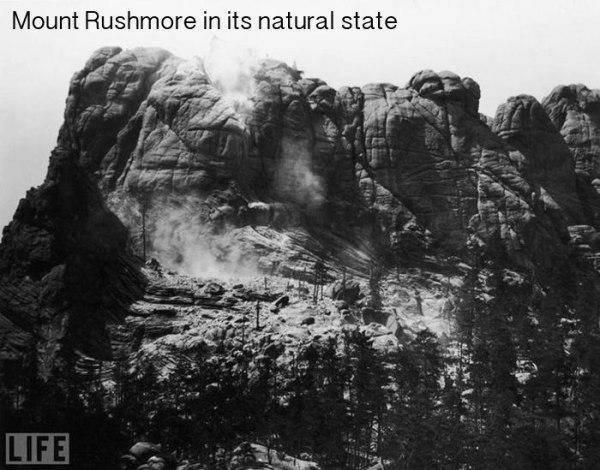 Rašmora kalns pirms slaveno... Autors: twist 18 vēsturiskas bildes, par kurām pasaule gandrīz ir aizmirsusi.