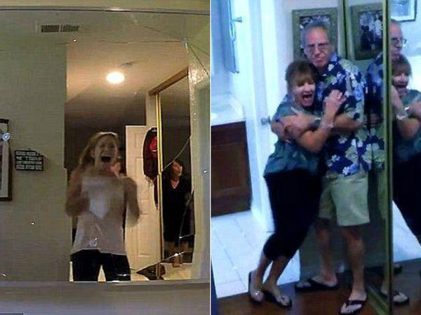 """Saistībā ar pēdējās... Autors: zeminem Skarba izjokošana mājā, kurā tika uzņemta filma """"Paranormālās parādības""""."""