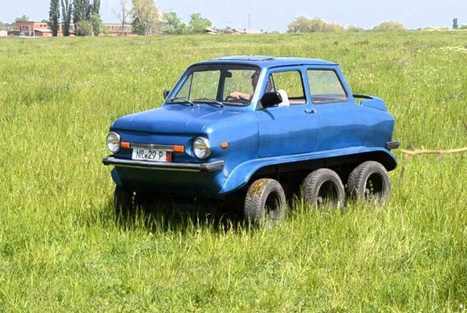 Autors: zeminem Zaparožecs – Universāla automašīna pārvērtībām