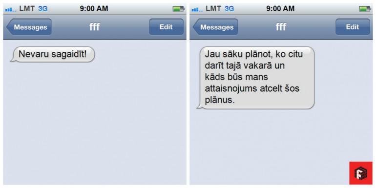 Kad paziņa kuru tu negribi... Autors: rihcaa Īsziņu patiesā nozīme skaidrā latviešu valodā...