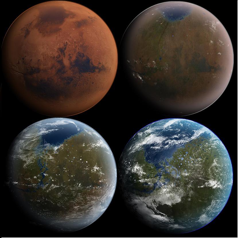 Pieņemsim ka Marss ir nevis... Autors: Fosilija Kurā kalnā ir vieglāk uzkāpt- Everestā vai Olimpā?